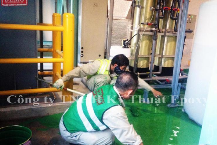 Sơn epoxy chống ăn mòn kim loại được ưa chuộng nhất 2021